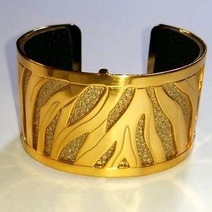 "Brighton Christo ""JOHANNESBURG"" Wide Cuff Bracelet"